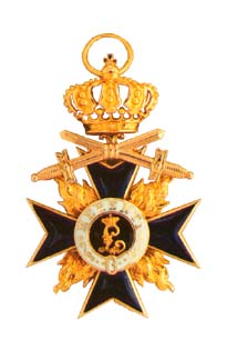 Military Merit Order 3rd class with Swords and Crown