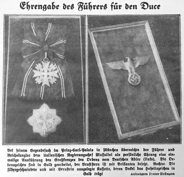 German Eagle Order with Diamonds