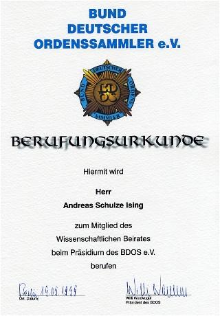 mitglied deutscher orden
